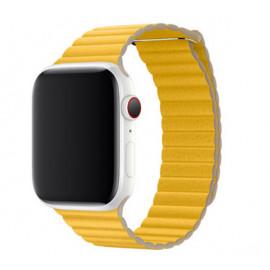 Apple Leather Loop Apple Watch medium 42mm / 44mm Meyer Lemon