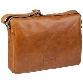 dbramante1928 Marselisborg 14 inch Messenger Bag Golden tan