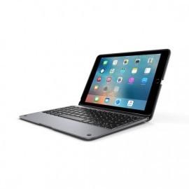 ClamCase+ keyboard iPad Air 2 space gray