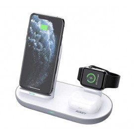 Aukey 3-in-1 Wireless Charging Station wit