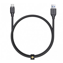 Aukey Cable USB-A naar USB-C 1.0m zwart