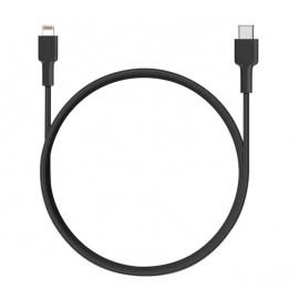 Aukey kabel USB-C naar Lightning 1.2m zwart