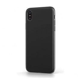 BeHello iPhone Xs Max Liquid Silicone Case zwart