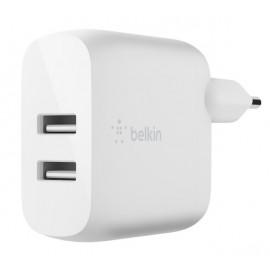 Belkin Dual USB-A Charger 24W + Lighting kabel