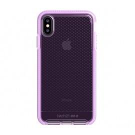 Tech21 Evo Check iPhone XS Max transparant / roze