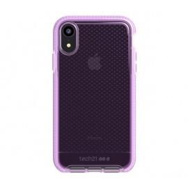 Tech21 Evo Check iPhone XR transparant / roze