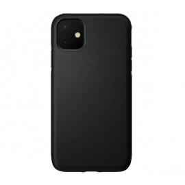 Nomad Active Rugged Leather Case iPhone 11 zwart
