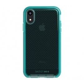 Tech21 Evo Check iPhone XR transparant / groen