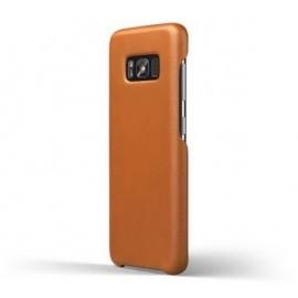 Mujjo Leather Case Galaxy S8 Plus bruin