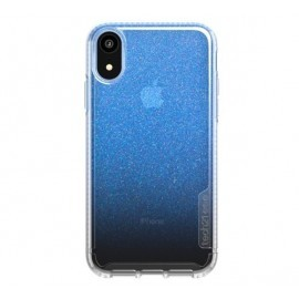 Tech21 Pure Shimmer iPhone XR blauw