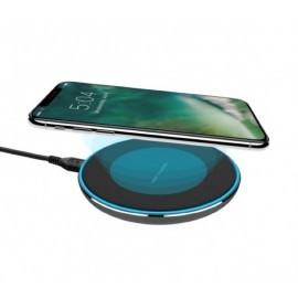 XQISIT Wireless Fast Charger 10W zwart