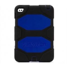 Griffin Survivor All-Terrain hardcase iPad Mini 4 blauw/zwart