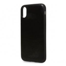 Knomo iPhone X / XS Snap On Case Zwart