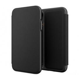 GEAR4 Oxford Leather iPhone XR zwart