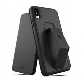 Adidas SP Folio Grip Case iPhone XS Max Zwart
