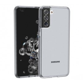 Casecentive Shockproof case Samsung Galaxy S21 Plus smoked transparant