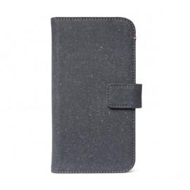 Decoded Leren Wallet Case iPhone 11 antraciet