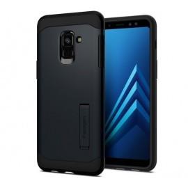 Spigen Slim Armor Case Samsung Galaxy A8 2018 zwart