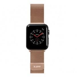 LAUT Steel Loop Apple Watch 38 / 40 mm goud