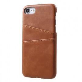 Casecentive Leren Wallet back case iPhone 7 / 8 / SE 2020 bruin