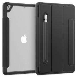Casecentive Rugged Smart Cover Case iPad 10.2 2019 / 2020 zwart