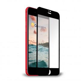 Casecentive Glass Screenprotector 3D full cover iPhone 7 / 8 / SE 2020 zwart