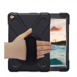 Casecentive Handstrap Hardcase met handvat iPad Mini 4 zwart