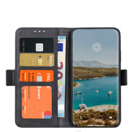 Casecentive Magnetische Leren Wallet case iPhone 12 / iPhone 12 Pro zwart