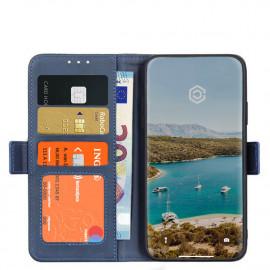 Casecentive Magnetische Leren Wallet case iPhone 12 Mini blauw