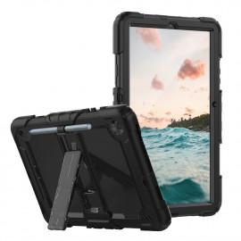 Casecentive Ultimate Hardcase Galaxy Tab S6 Lite 10.4 2020 zwart