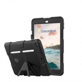 Casecentive Ultimate Hardcase iPad 10.2 2021 (2019 / 2020) zwart