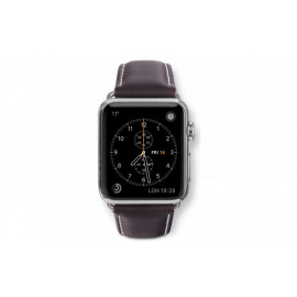 Dbramante1928 Apple Watch bandje 38mm zilver/bruin