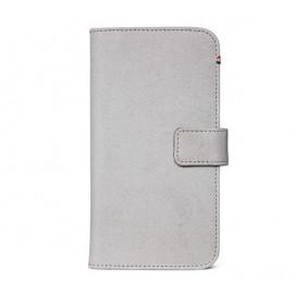 Decoded Leren Wallet Case iPhone 11 grijs