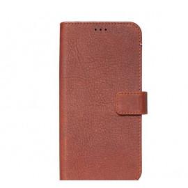 Decoded Leren Wallet Case iPhone 11 Pro Max bruin