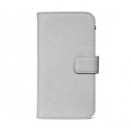Decoded Leren Wallet Case iPhone 11 Pro Max grijs