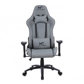 Nordic Gaming Racer Fabric gaming chair grijs
