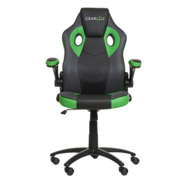 Gear4U Gambit Pro gamestoel zwart / groen