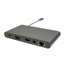 HyperDrive USB-C Ultimate Hub 11-in-1 space gray