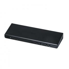 i-Tec USB 3.0 / USB-C 5K Dual Display Docking Station zwart