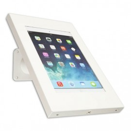 Tablet muur- en tafelstandaard Securo iPad Pro 12.9 / Surface Pro wit