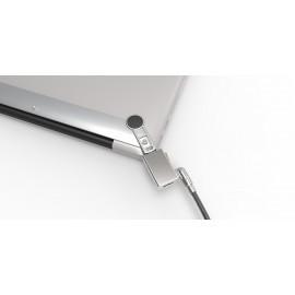 Maclocks MacBook security bracket met Wedge lock grijs