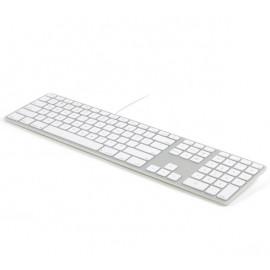 Matias Bedraad Toetsenbord AZERTY voor MacBook zilver