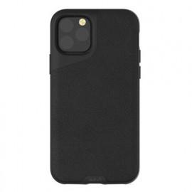 Mous Contour Leather iPhone 11 Pro zwart
