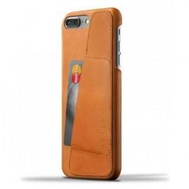 Mujjo Leather Wallet Case iPhone 7 / 8 Plus bruin