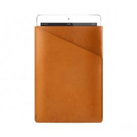 """Mujjo Slim Fit Leather Sleeve iPad Air 1 / 2 / Pro 9.7"""" tan"""