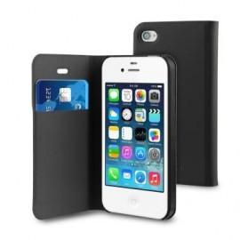 Muvit Folio Card Case iPhone 4(S) zwart