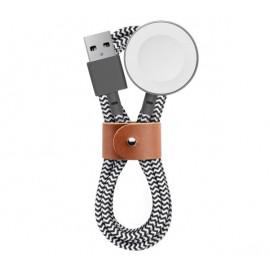Native Union Kevlar Belt Apple Watch Kabel 1.2m Zebra
