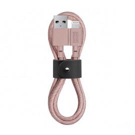 Native Union Kevlar Belt Lightning kabel 1.2m roze