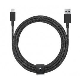 Native Union Kevlar Belt Lightning kabel 3m zwart