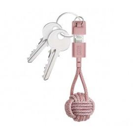 Native Union Kevlar Key Lightning kabel roze